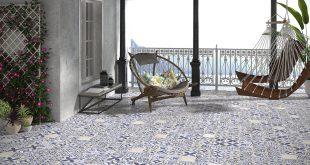 """צבעו את הבית באריחים. כחול לבן (צילום: יח""""צ חו""""ל)"""